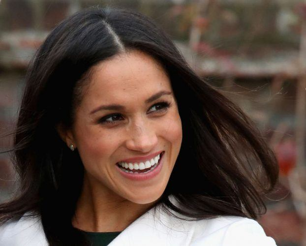 Meghan Markle during an official photocall to announce her engagement.