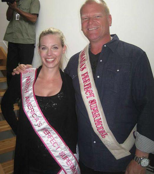 Mike Holmes with his ex-wife, Alexandra Lorex
