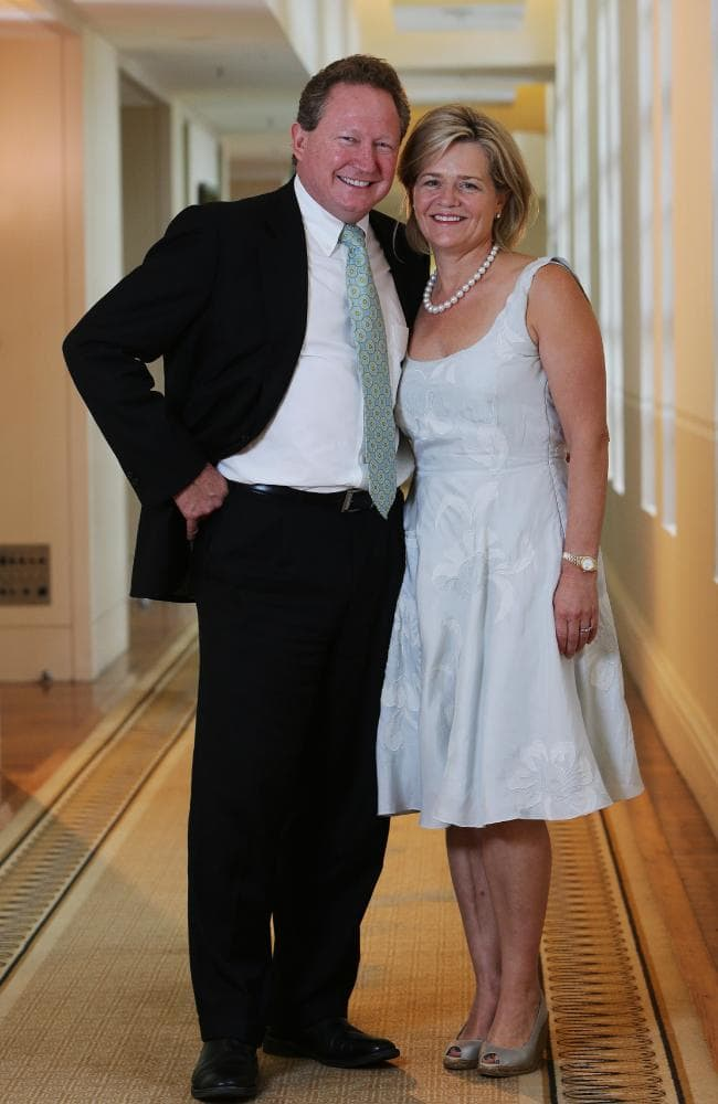 Australian billionaire Andrew Forest and wife Nicola are set to make history.
