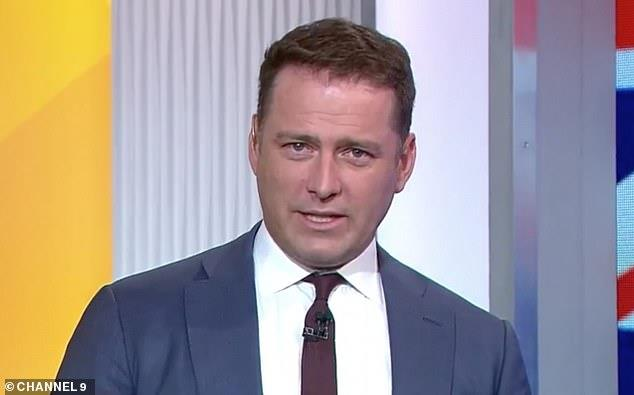 Karl Stefanovic wearing a suit and tie: Axed: Karl (pictured) may have only been sacked from Channel Nine's Today show on Wednesday - but his fate at the network was already sealed long before