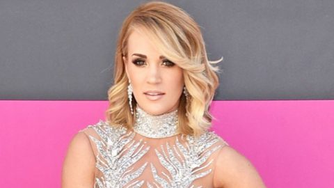 Carrie Underwood Reveals That She Received 50 Stitches In Her Face After Tragic Fall   Country Music Videos