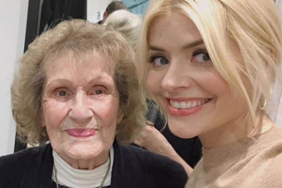 In memory: Holly Willoughby paid tribute to her late nan