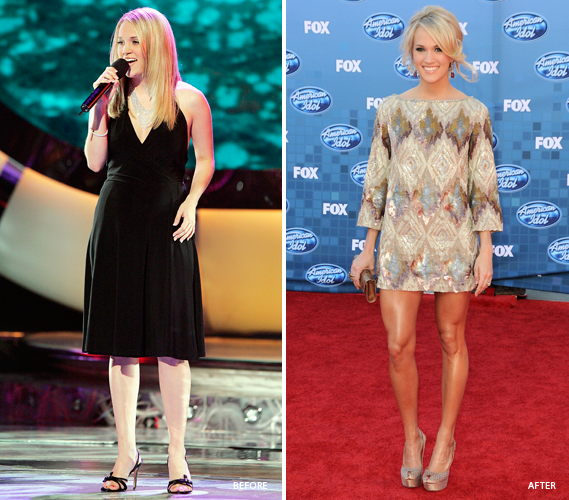 Carrie Underwood Before And After Weight Loss