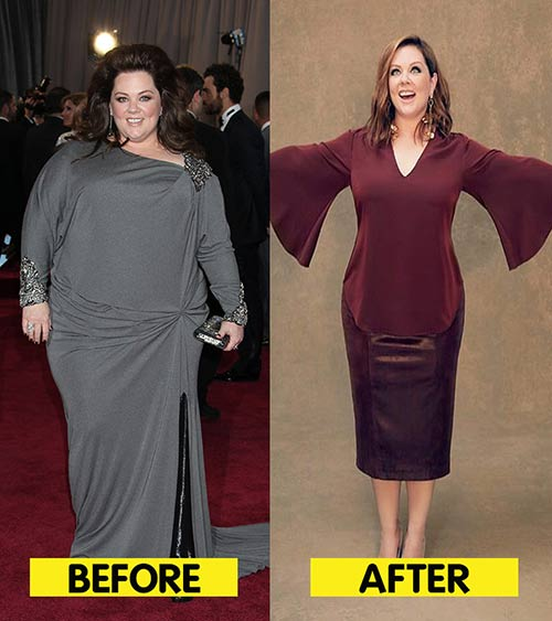 Melissa McCarthy Weight Loss - Revealed! How Melissa McCarthy Lost 75 Pounds