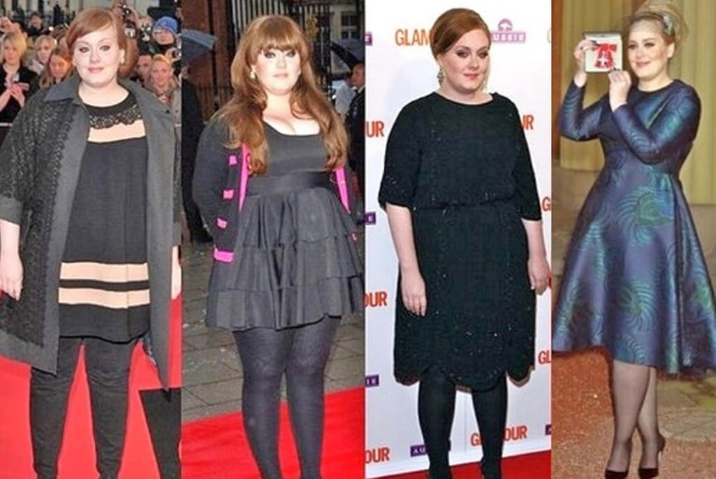 Adele weight loss before and after