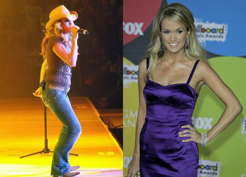 Carrie Underwood After Weight Gain