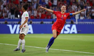 The Sports Report: U.S. advances to Women's World Cup final