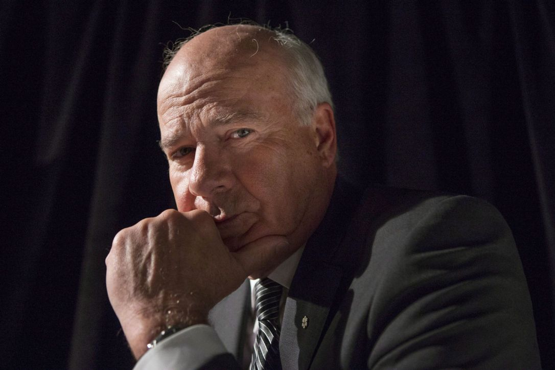 """Peter Mansbridge says his most awkward interview ever was with Margaret Thatcher. """"She kept accusing me of not having read her book . . . and I don't think she ever wrote it."""""""