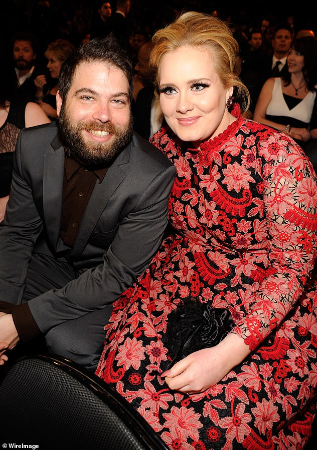 Split:Adele filed for divorce from Simon Konecki, 46 - the only partner she's gone public with during her career, in September (They are seen in February 2013)