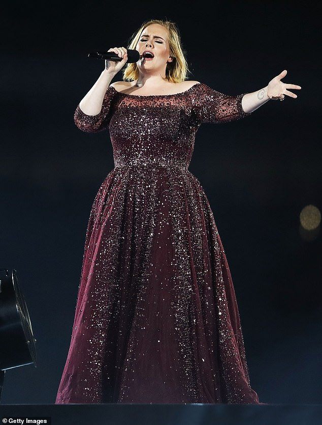 Meeting: Adele was said to have been working on new music at the studio while Jonathan was putting the finishing touches on his jazz album Follow The Leader (pictured in March 2017)