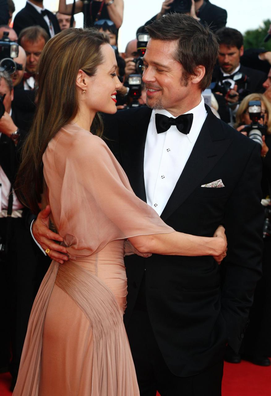 The pair met on the set of Mr & Mrs Smith although denied ever having an affair