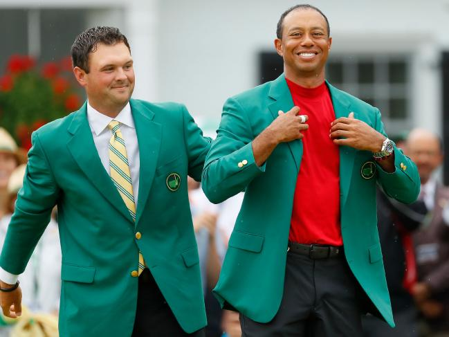 Woods is hoping Aussie fans won't be too harsh on Reed (left).
