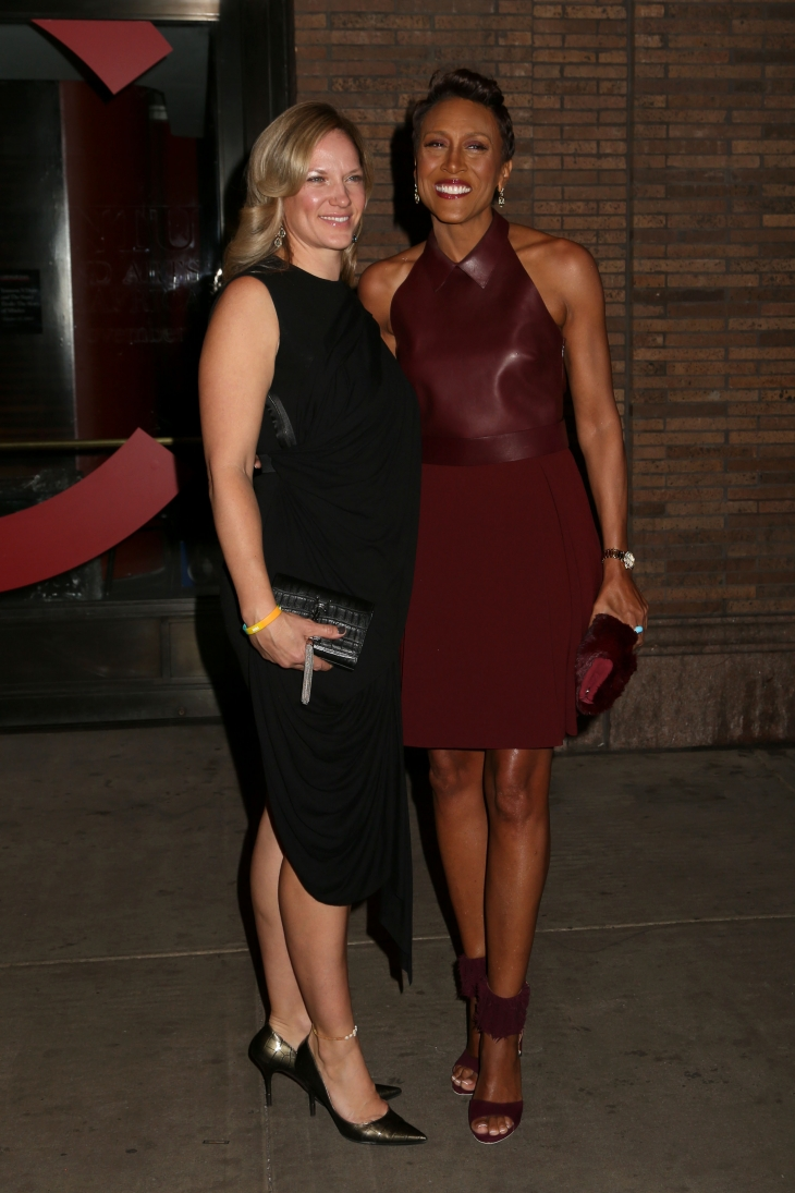 Amber Laign and Robin Roberts attend the Glamour Woman of the Year Awards in New York/ Source: Shutterstock