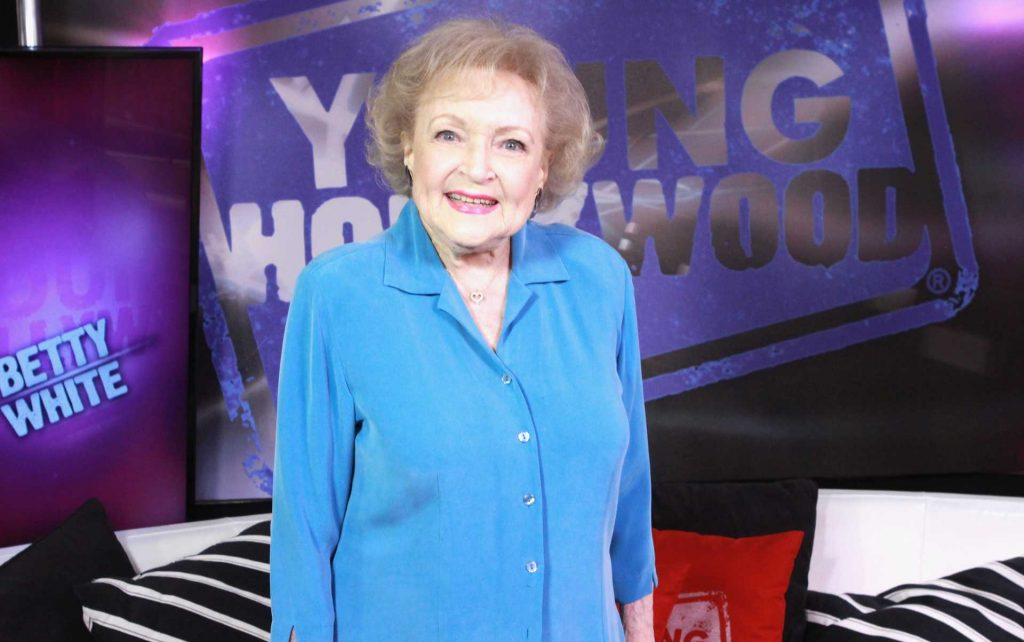 Betty White in 2013   Mary Clavering/Young Hollywood/Getty Images
