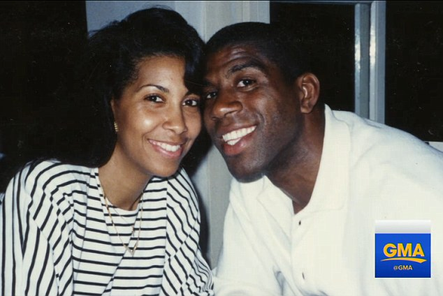 The couple had only been married for 45 days when, in 1991, Magic had to admit to his wife that he had contracted HIV and that she needed to be tested for the virus