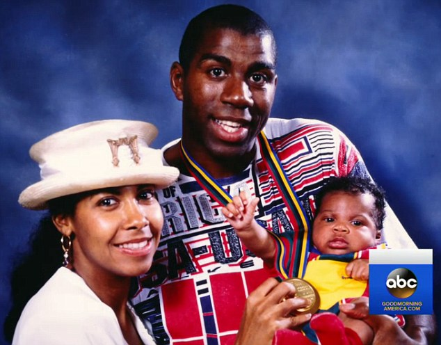 Johnson and Cookie have one son, Earvin III (EJ), and also adopted a daughter, Elisa, in 1995