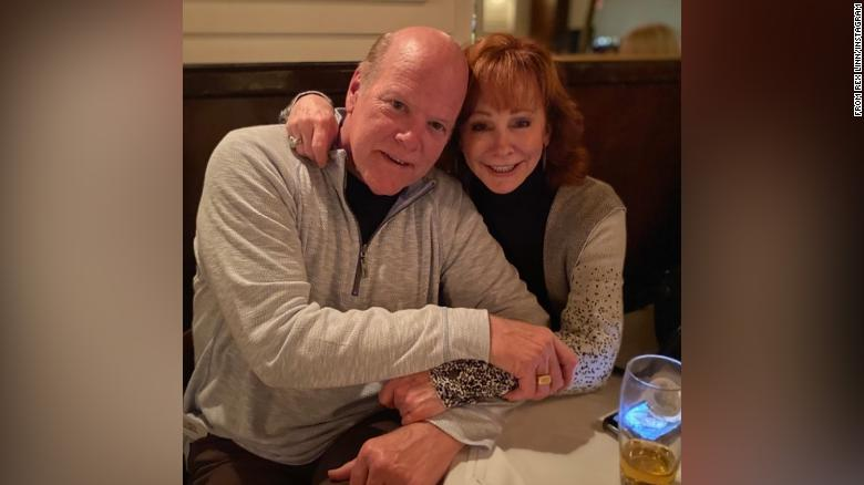 Rex Linn and Reba McEntire are dating and getting to know each other in a socially distanced way, she said.