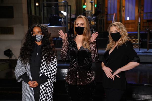Adele hosted SNL while H.E.R performed