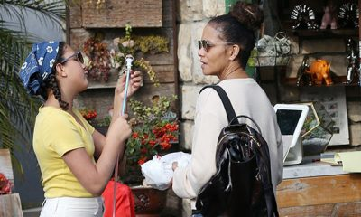 Halle Berry's Daughter Nahla, 11, Looks So Grown Up On Rare Outing With Her Famous Mom