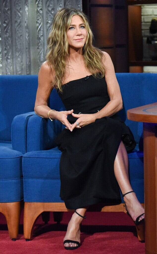 Jennifer Aniston, The Late Show with Stephen Colbert