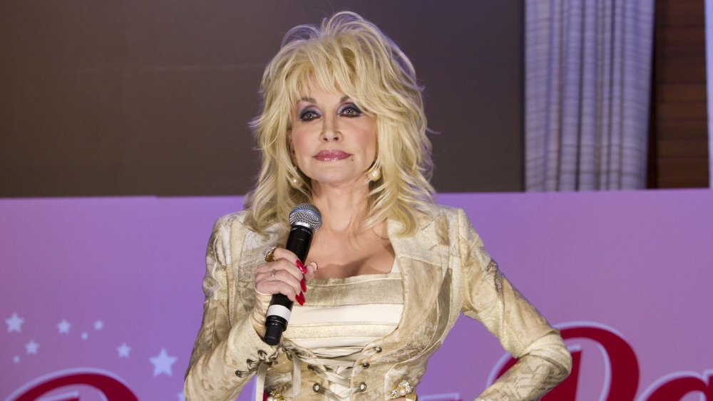 Dolly Parton performing in Australia in 2011