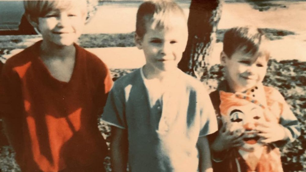 Mark Kilmer, Val Kilmer, and Wesley Kilmer in a throwback photo posted to Val's Instagram