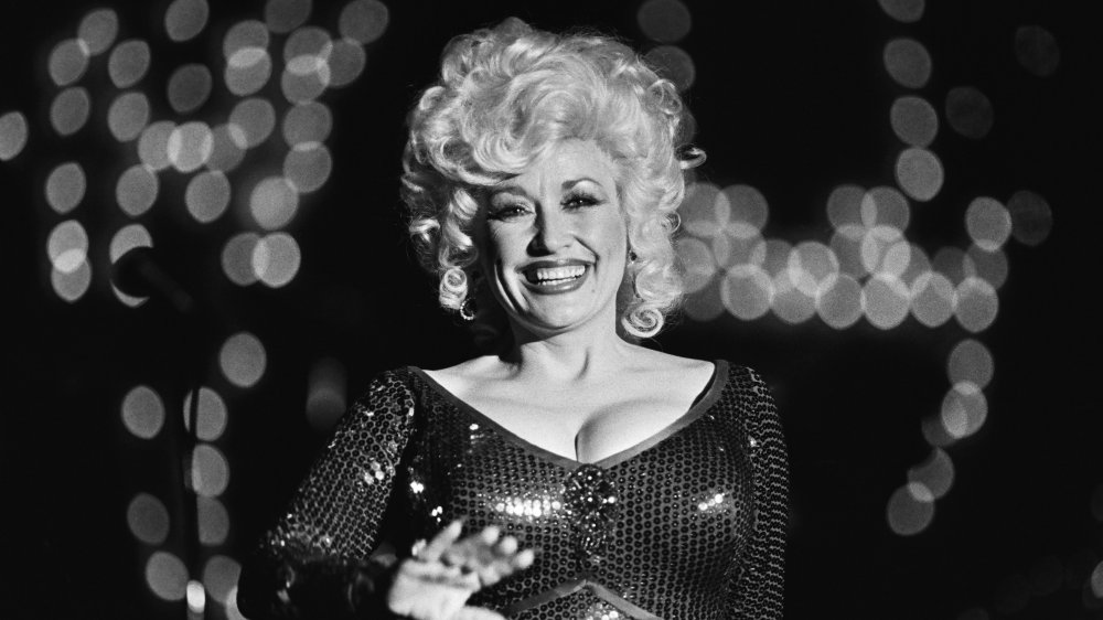 Dolly Parton performing at Harrah's in 1980