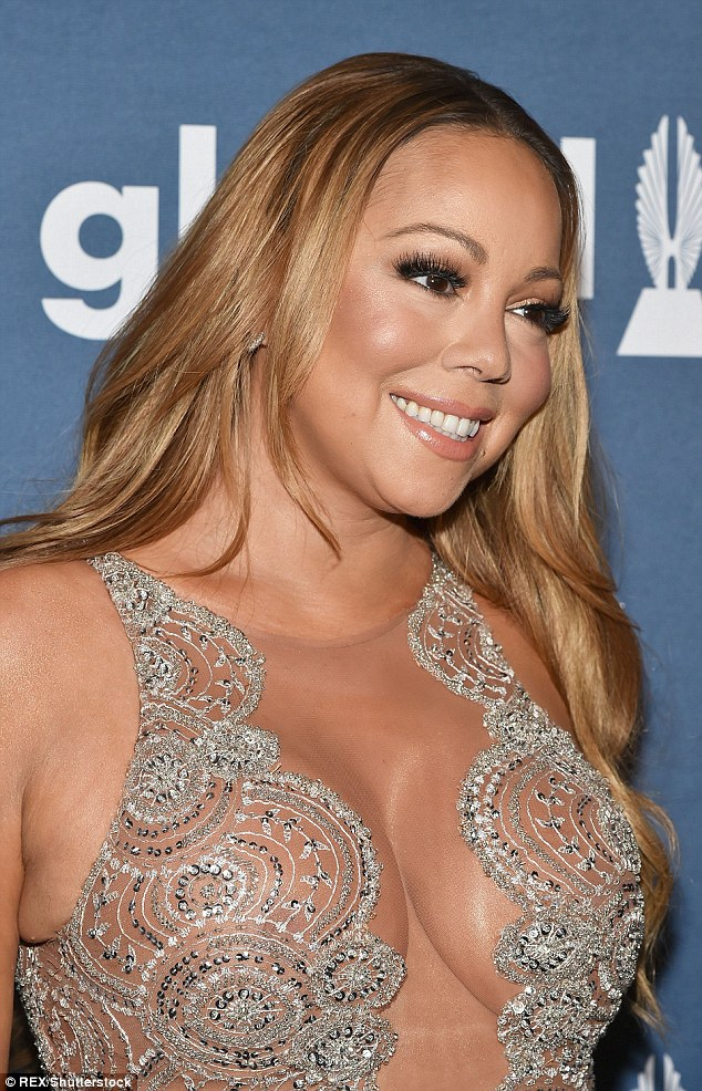 Moving on: Mariah Carey is still married to Nick Cannon - who she separated from in August 2014 - even though she is gearing up to wed her billionaire fiance James Packer