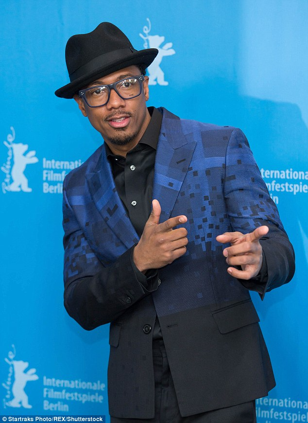 Stubborn: Nick Cannon is reportedly refusing to sign divorce papers despite separating from estranged wife Mariah two years ago