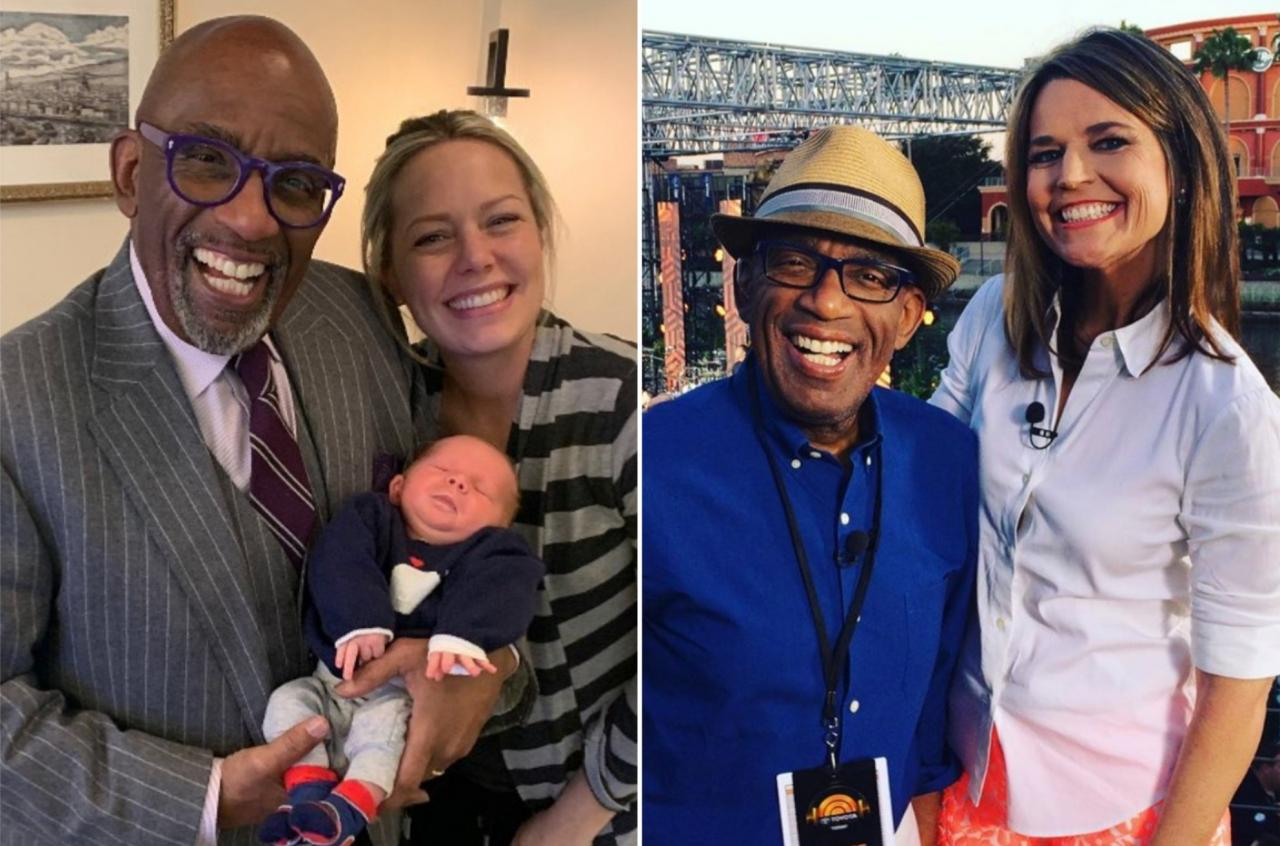 Al Roker with Dylan Dreyer (L) and Savannah Guthrie.