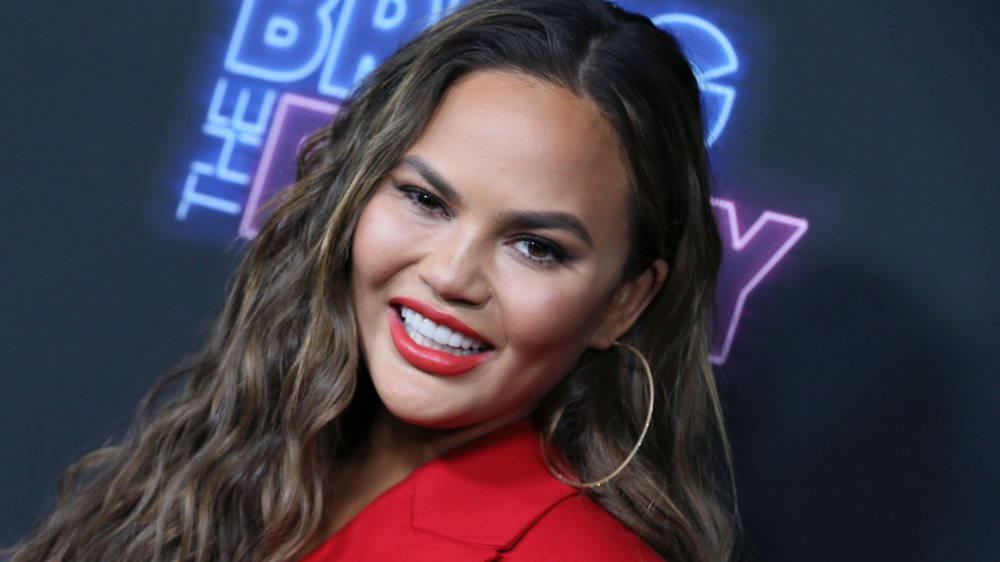 """Chrissy Teigen attends the premiere of NBC's """"Bring The Funny"""""""